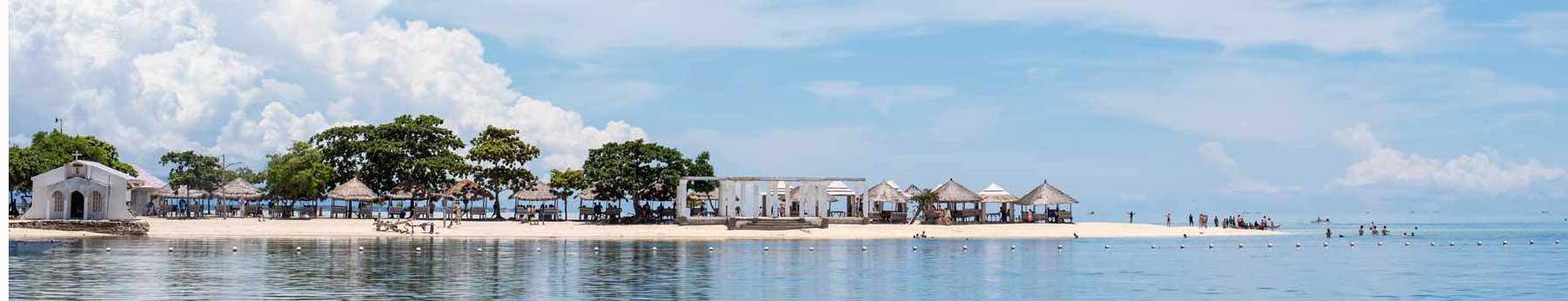 セブのビーチ(風景写真)
